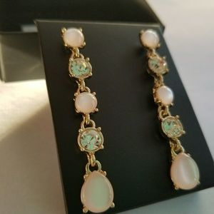 Jewelry - Celestial Pink Drop Earrings